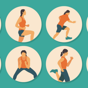 Here's A 30-Minute Cardio Workout That Will Totally Kick Your Ass Into Shape