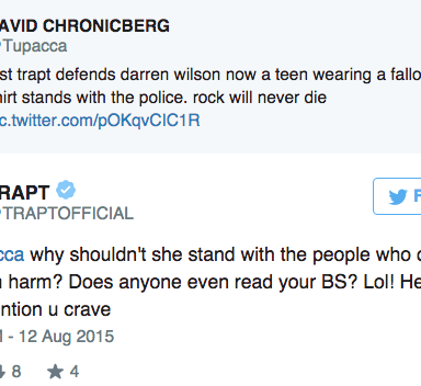 Remember That Band, Trapt? They're Getting Owned On Twitter Right Now.
