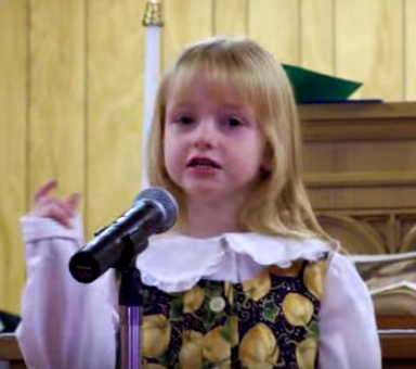 This Heartwarming Video Of A Little Girl Singing For Her Brother To Come Home Will Make You Cry