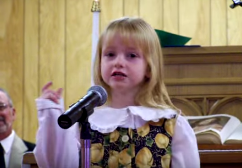 This Heartwarming Video Of A Little Girl Singing For Her Brother To Come Home Will Make YouCry
