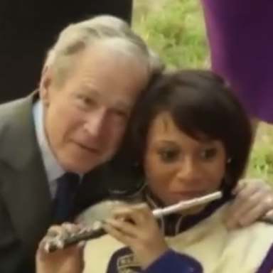 What The Hell Is George W. Bush Doing In This Vine?