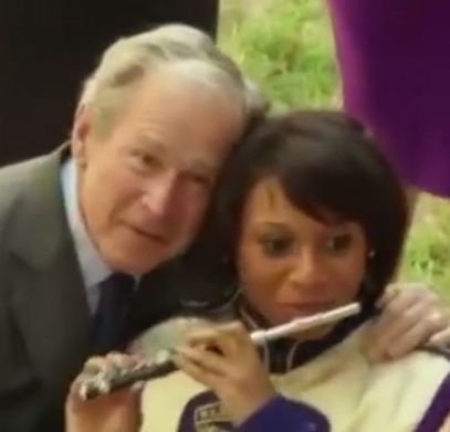 What The Hell Is George W. Bush Doing In ThisVine?