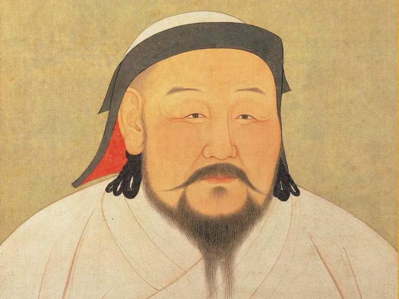 Kublai Khan, pet collector. (Wikimedia Commons)