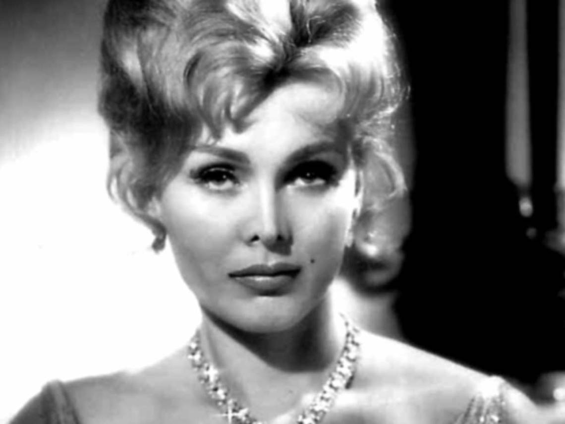Publicity photo of Zsa Zsa Gabor from 1959. (Wikimedia Commons)