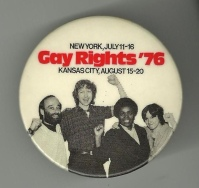 1976 gay rights button