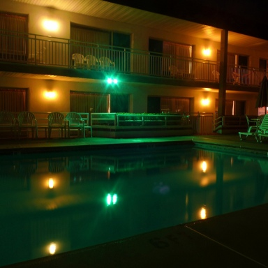 There's A Motel By The Pennsylvania – New York Border With A Haunted Pool Where A Bride Committed Suicide