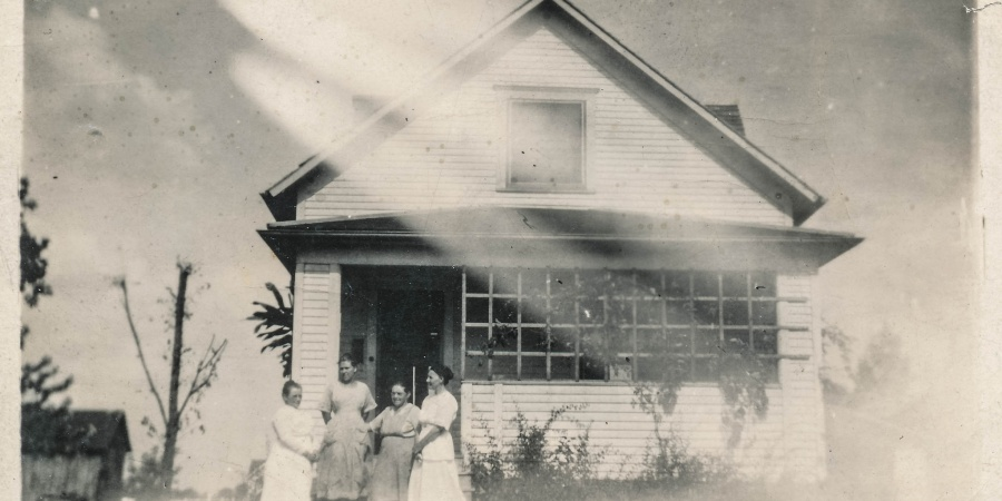 Our First House Was An Old Victorian That Came With… 'A FormerResident'