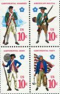 bicentennial stamp revolution