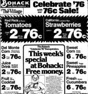 bohack 76 cents ad