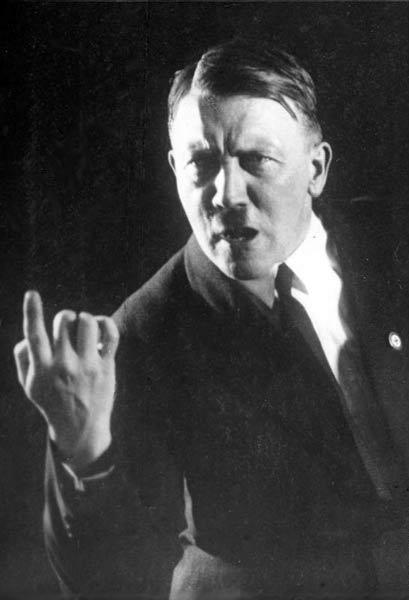 Adolf Hitler, chronic farter. (Wikimedia Commons)