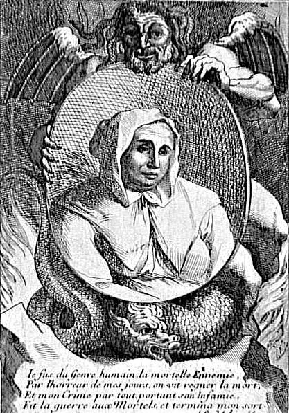 Catherine Deshayes aka La Voisin, executed in 1680. (Wikimedia Commons)