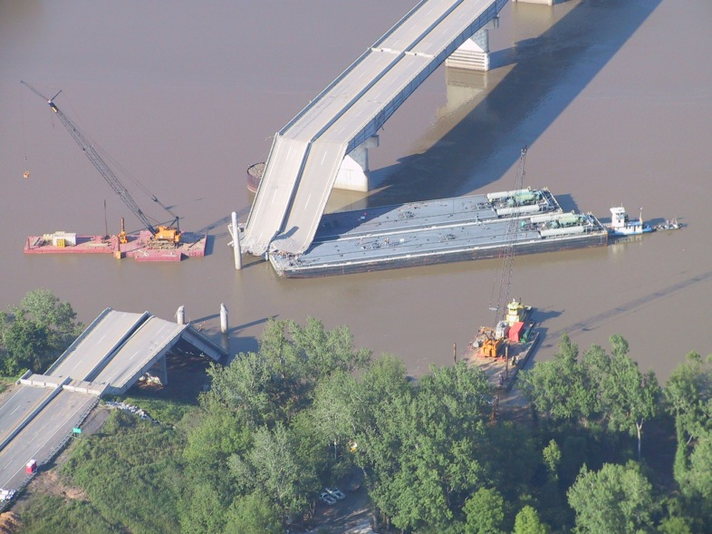 I-40 Bridge Disaster via wiki commons