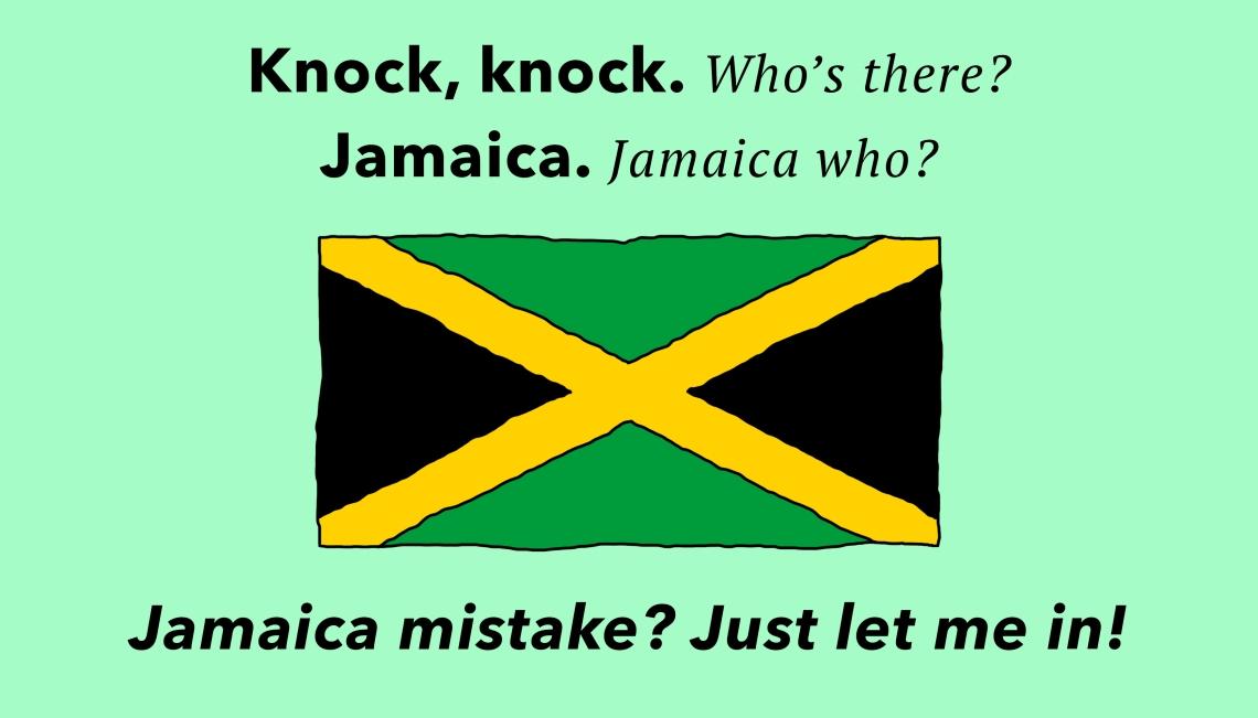 Knock Knock Jokes - Jamaica
