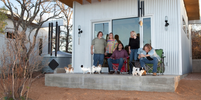 Group Of 'Besties' Builds Sustainable Village Where They All LiveTogether