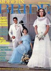 modern bride april-may 1976
