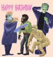 monsters bd card