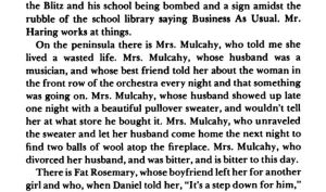 peninsular people excerpt