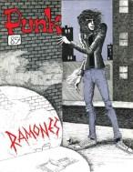 punk magazine cover ramones