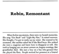 robin, remontant