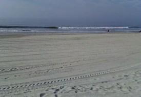 rockaway deserted beach