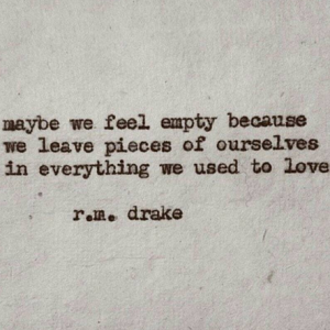 21 R.M. Drake Poems To Read When You're Feeling Lost Or Alone