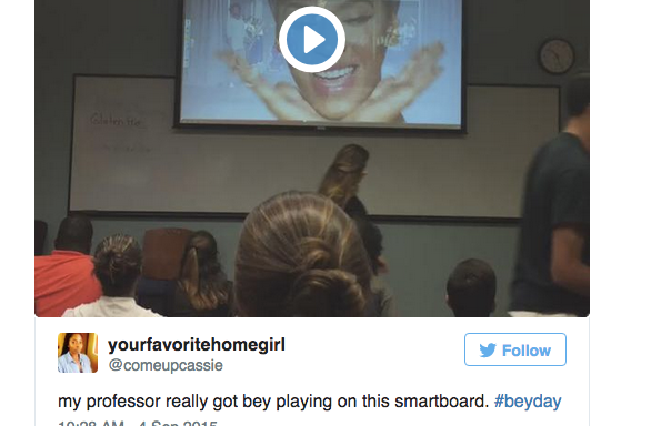 18 Tweets That Sum Up The Fabulous Glory That Was#BeyDay
