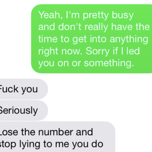 Read This Unbelievable Text Convo Between A Woman And The 'Nice Guy' She Gave Her Number To
