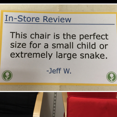 Someone Started Placing In-Store Product Reviews In This IKEA And It's Really Funny
