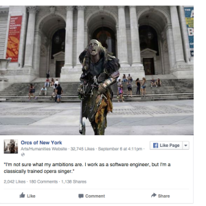 'Orcs Of New York' Is The Playful 'Humans Of New York' Parody We Didn't Know We Needed