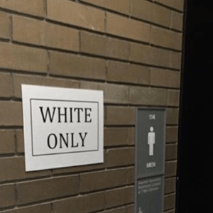 'White Only' And 'Black Only' Signs Found On University At Buffalo Campus