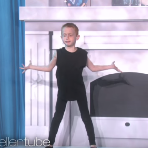 Watch What Happened When Taylor Swift Met The 7-Year-Old Boy Who Danced To 'Shake It Off' On Ellen