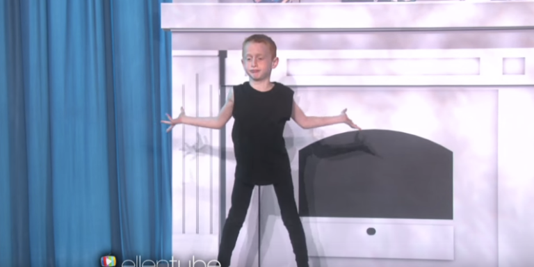 Watch What Happened When Taylor Swift Met The 7-Year-Old Boy Who Danced To 'Shake It Off' OnEllen