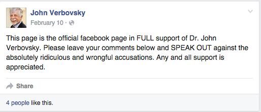 Facebook / John Verbovsky