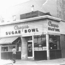 sugar bowl bw