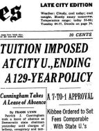 tuition imposed