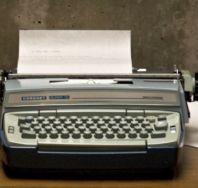 typewriter coronet