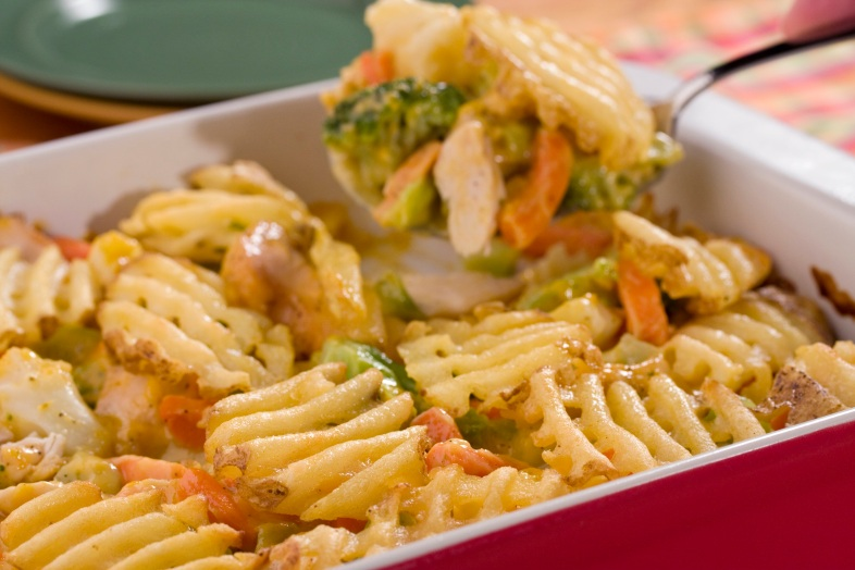 Image Source: http://easyhomemeals.com/recipe/mr-food-waffle-fry-chicken-bake/detail