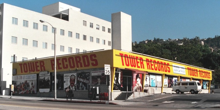 Tower Records: A Place To BeSeen
