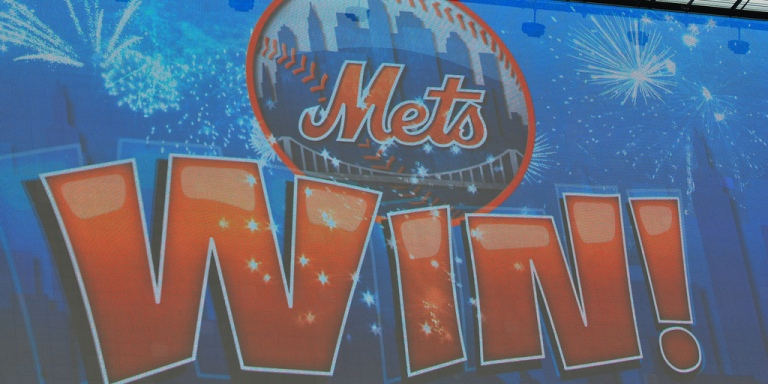 The Mets Are In The Playoffs! I'm So Excited, I'm Throwing Up Blue And Orange!