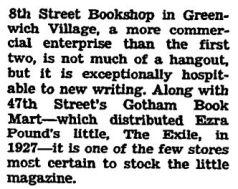 8th street bookshop nyt