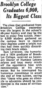 bc 1976 commencement nyt
