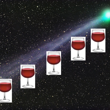 Boozed-Up Comet Spews Stream Of Alcohol Through Outer Space