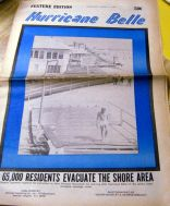 hurricane belle newspaper