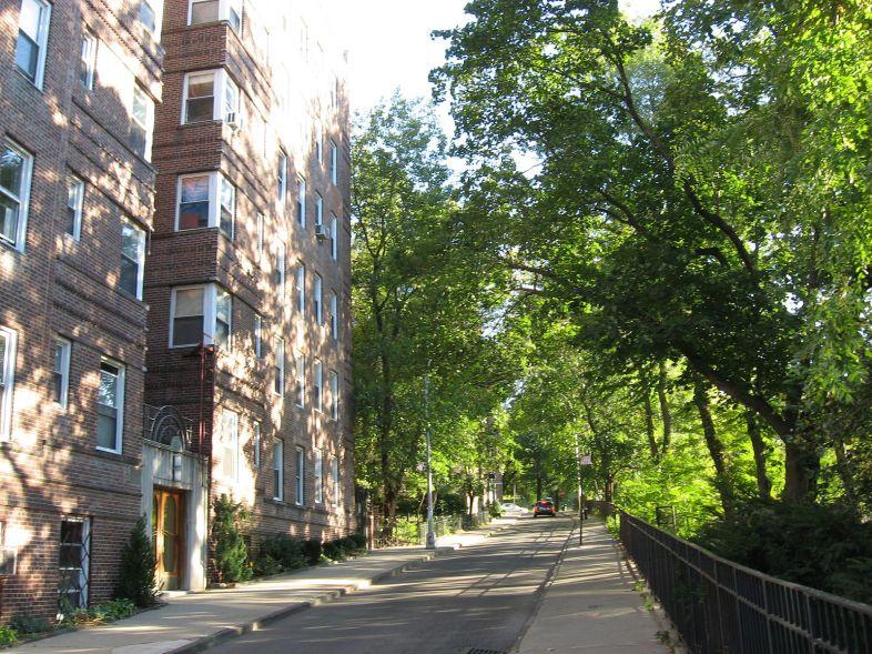 A street in Inwood, Manhattan