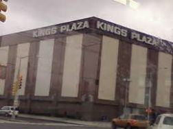 Kings Plaza from car