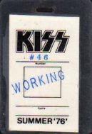 kiss working pass