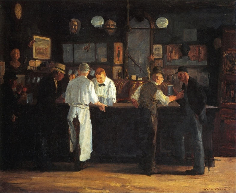 McSorley's Bar, a 1912 painting by John French Sloan