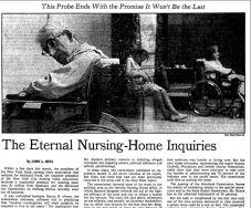 nursing home nyt