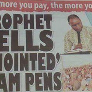 Pastor Sells 'Holy Pens' That Will Help You Pass Exams Without Studying. The More You Pay, The Better You'll Do!