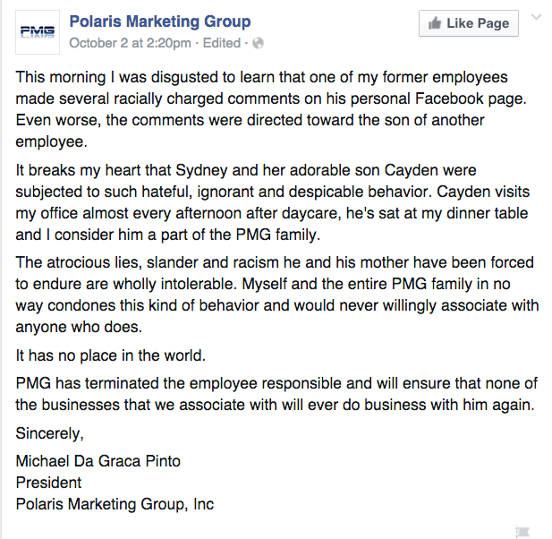 Facebook / Polaris Marketing Group